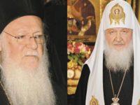 «Русская церковь, отдай Украину!»: патриарх Кирилл принял делегацию Константинопольского патриархата