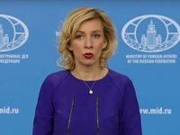 Захарова объяснила фразу российского дипломата «глаза-то не отводи»